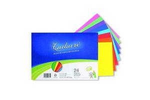 Block Cartulina Color TABARE A4  24 Hojas en Tienda Inglesa
