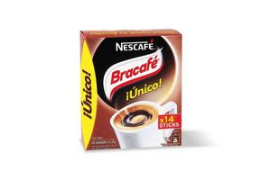 Café Soluble BRACAFÉ 14 Sticks en Tienda Inglesa