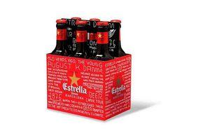 Cerveza ESTRELLA Damm Botella 330ml en Tienda Inglesa