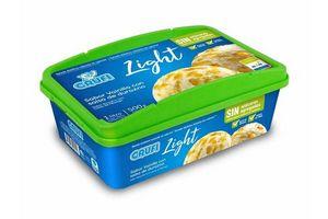 Helado Dietético CRUFI sabor Vainilla con Pasta de Durazno 1l en Tienda Inglesa
