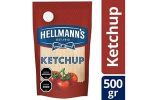 Ketchup HELLMANN'S Doy Pack 500 gr en Tienda Inglesa