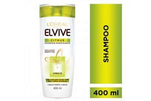 Shampoo Elvive L'ORÉAL Citrus Reno 400ml en Tienda Inglesa