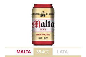 Malta PILSEN lata 354ml en Tienda Inglesa