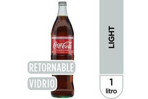 Refresco COCA COLA  Light Retornable 1l en Tienda Inglesa