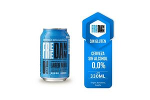 Cerveza ESTRELLA Damm 0,0 % sin Alcohol 330ml en Tienda Inglesa