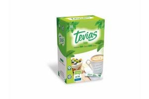 Endulzante TEVIAS  Stevia 100 bastones en Tienda Inglesa