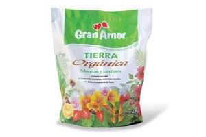Tierra Orgánica GRAN AMOR Macetas y Jardines 2.5 kg en Tienda Inglesa