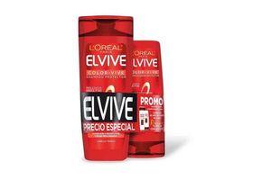 Pack Shampoo Elvive L'ORÉAL 400 ml + Acondicionador Color-Vive 200 ml en Tienda Inglesa