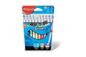 Marcadores maped color peps con pincel x10 en Tienda Inglesa
