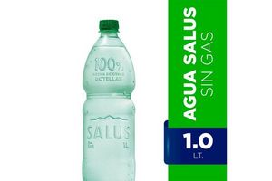 Agua Mineral Natural SALUS Sin Gas 1 L en Tienda Inglesa