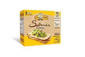 Tostaditas de Maíz al Horno Salmas sin Gluten SANISSIMO 140 gr en Tienda Inglesa