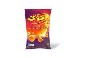 Conitos 3D's Megatubo Sabor Barbacoa 160 gr en Tienda Inglesa