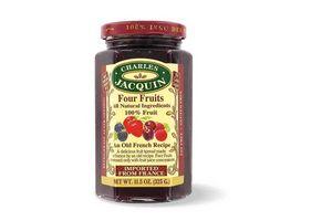 Mermelada de Frutos Rojos Sin Azúcar CHARLES JACQUIN 325g en Tienda Inglesa