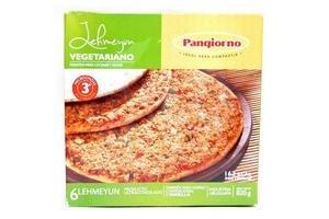 Lehmeyun Vegetariano para Microondas, Horno o Parrilla Listo en 3 minutos PANGIORNO x 6 Unidades  820g ¡Pronto para Cocinar y Servir! en Tienda Inglesa