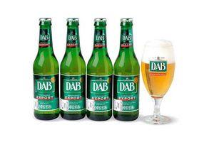 Pack 4 Cervezas DAB Botella 330ml + Copa en Tienda Inglesa