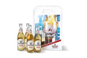 Pack de 4 Cervezas Clausthaler Lemon en Botellas de 330ml + Bolsa Térmica ¡De Regalo! en Tienda Inglesa