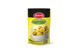 Aceitunas Verdes SERPIS  Rellenas con Limón Sachet 170g en Tienda Inglesa