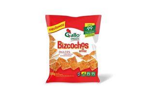 Bizcochos de Arroz Dulces GALLO 100g en Tienda Inglesa