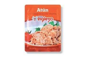 Atún en Trozos TIENDA INGLESA en Aceite Vegetal 120 gr en Tienda Inglesa