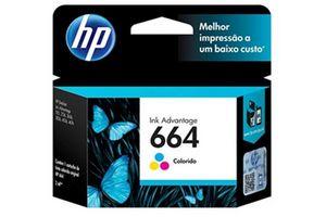 Cartucho HP 664 Tricolor 2 ml Cada Color en Tienda Inglesa