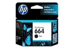 Cartucho HP  664 Color Negro 2 ml en Tienda Inglesa