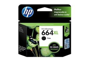 Cartucho HP 664XL Color Negro 8.5 ml en Tienda Inglesa