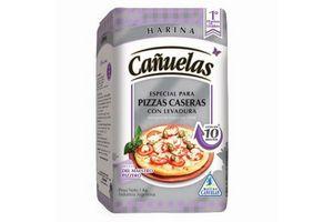 Harina CAÑUELAS con Levadura para Pizza 1 Kg en Tienda Inglesa