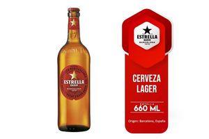 Cerveza ESTRELLA Damm Botella 660ml en Tienda Inglesa