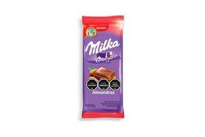 Chocolate con Almendras Enteras MILKA 155g en Tienda Inglesa