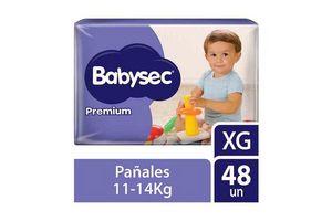 Pañales de bebé BABYSEC Premium Flexiprotect Talle XG x 48  Pañales en Tienda Inglesa