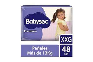 Pañales de Bebé BABYSEC Premium Flexiprotect talle XXG x 48 Pañales en Tienda Inglesa