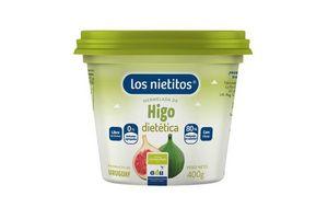 Mermelada Dietética LOS NIETITOS Sabor Higo Pote 400g en Tienda Inglesa