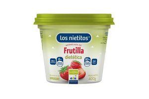 Mermelada de Frutilla Dietética LOS NIETITOS Pote 400 grs en Tienda Inglesa