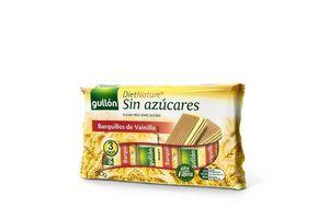Galletas Wafer GULLÓN sabor Vainilla sin Azúcar 70g en Tienda Inglesa