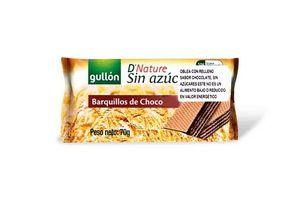 Galleta Wafer GULLÓN de Chocolate sin Azúcar 70g en Tienda Inglesa