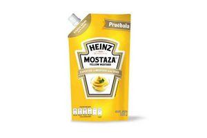 Mostaza Yellow Doy Pack HEINZ 368 gr en Tienda Inglesa