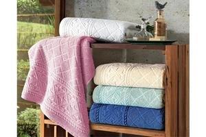 Toalla Rosa para Baño COMFORT 100% Algodón 70x140cm en Tienda Inglesa