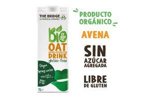 Bebida THE BRIDGE Bio Drink de Avena Gluten Free 1l en Tienda Inglesa