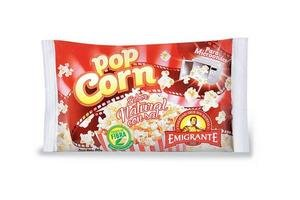 Pop Natural para Microondas EMIGRANTE 90g en Tienda Inglesa