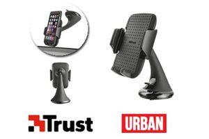 Soporte de Smartphone TRUST Premiun para Auto en Tienda Inglesa