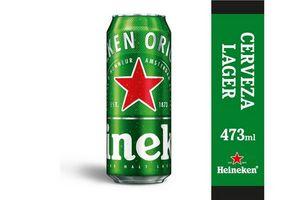 Cerveza HEINEKEN Lata 473 ml en Tienda Inglesa