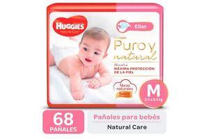 Pañal Natural Care Ellas M HUGGIES x 68 Pañales en Tienda Inglesa
