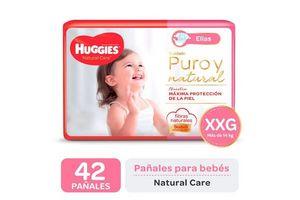 Pañal Natural Care Ellas Talle XXG HUGGIES x 42 Pañales en Tienda Inglesa
