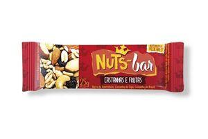 Barra NUTSBAR Frutas y Chocolate sin Gluten 25g en Tienda Inglesa