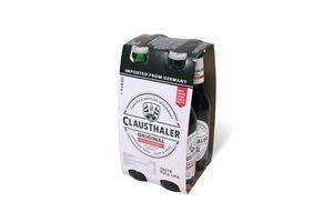 Pack 4 Cervezas CLAUSTHALER Original sin Alcohol 330cc en Tienda Inglesa