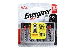 Pila ENERGIZER Alcalina AA x 6 Unidades en Tienda Inglesa