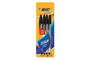 Boligrafo bic cristal negro x4u en Tienda Inglesa