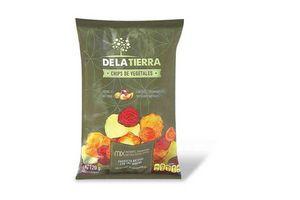 Chips de Vegetales DE LA TIERRA con Sal Marina 120g en Tienda Inglesa