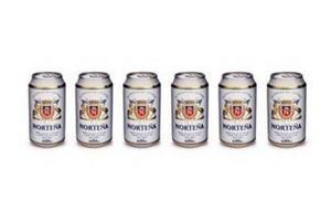 Pack 6 Cervezas NORTEÑA lata 354ml en Tienda Inglesa