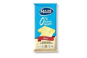Chocolate Blanco 0% Azúcar HAAS  70g en Tienda Inglesa